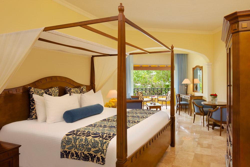 Preferred Club Junior Suite Tropical View King at Secrets Capri Riviera Cancun in Playa Del CarmenMexico