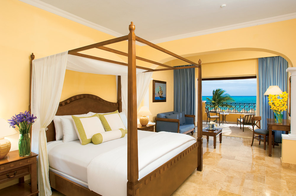 Junior Suite Ocean View at Secrets Capri Riviera Cancun in Playa Del CarmenMexico