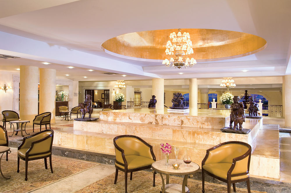 Lobby at Secrets Capri Riviera Cancun in Playa Del CarmenMexico