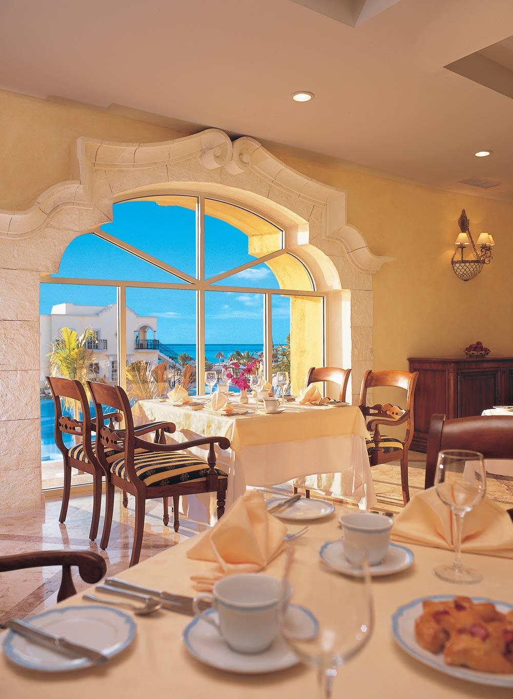 La Riviera Restaurant at Secrets Capri Riviera Cancun in Playa Del CarmenMexico