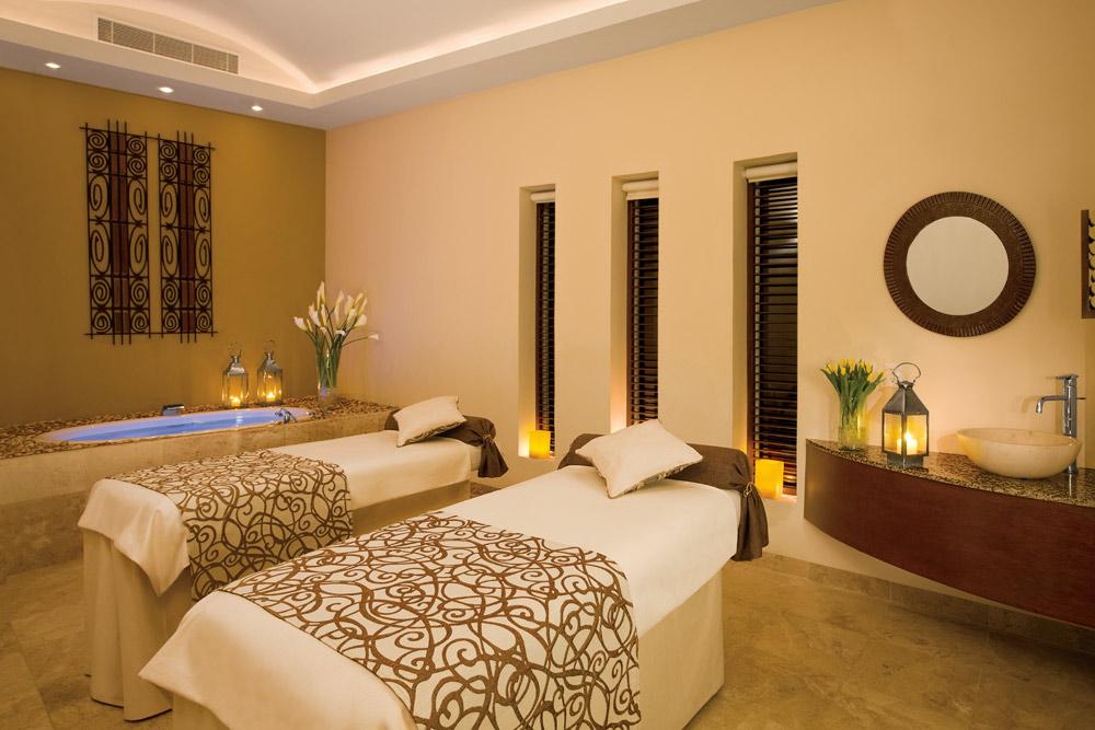Couple Massage Room at Secrets Capri Riviera Cancun in Playa Del CarmenMexico
