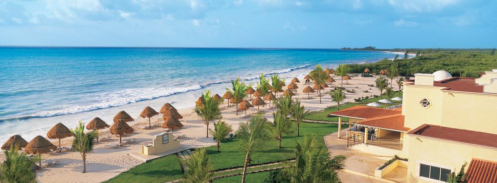Panoramic view of Secrets Capri Riviera Cancun in Playa Del CarmenMexico