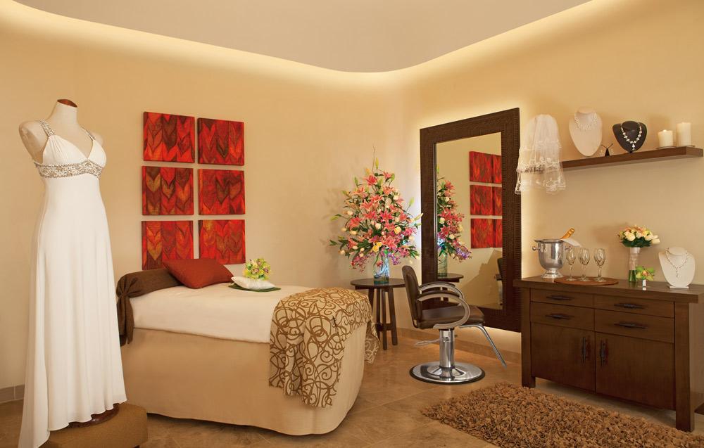 Bridal room at Secrets Capri Riviera Cancun in Playa Del CarmenMexico