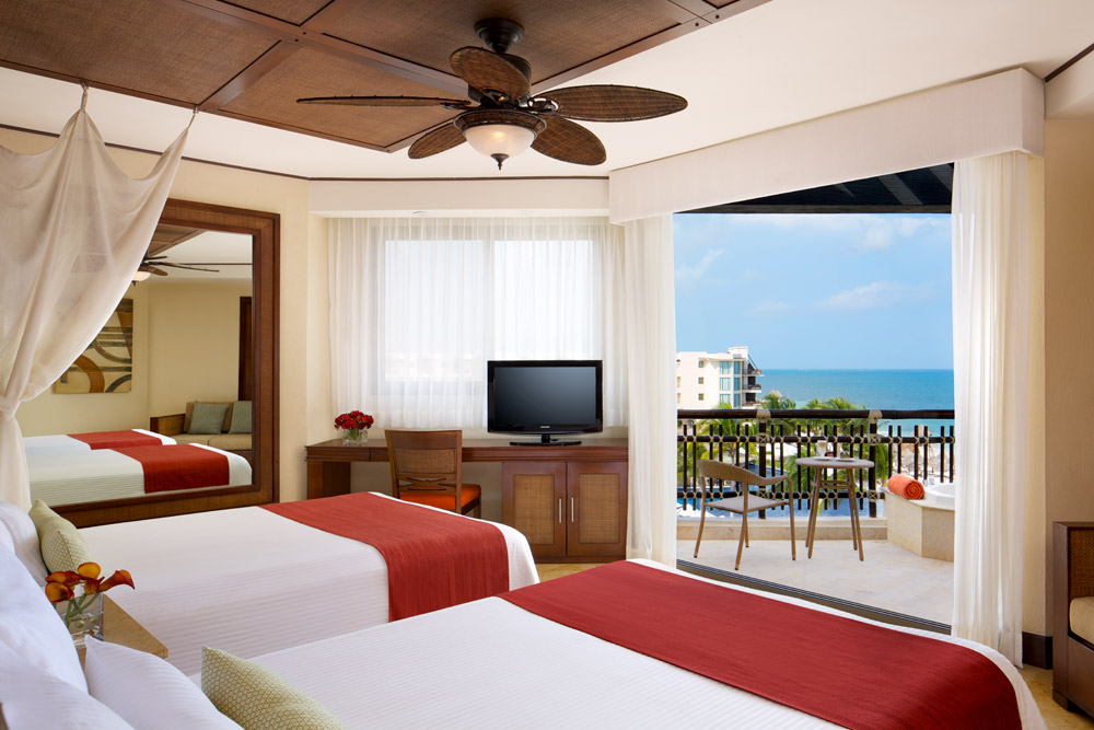 Double Guestroom at Dreams Riviera Cancun Resort and Spa