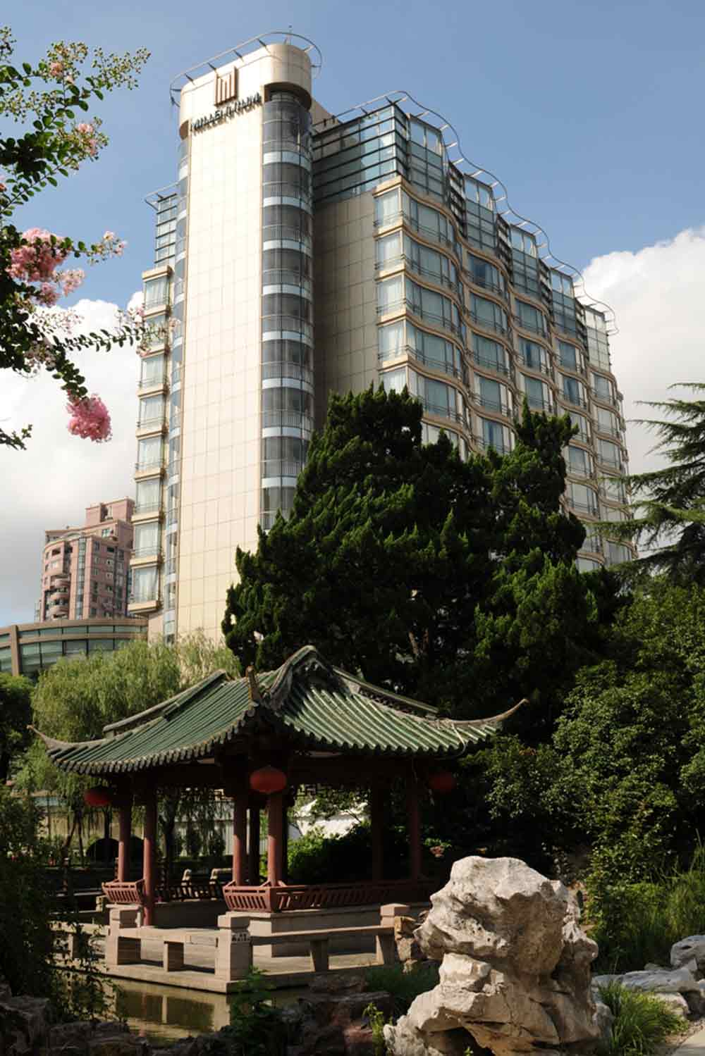 Exterior Pavilion of The Millennium Hongqia Shanghai Hotel