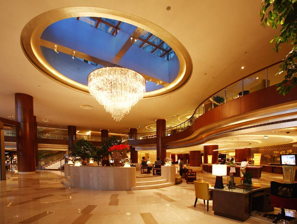 Lobby of The Millennium Hongqia Shanghai Hotel
