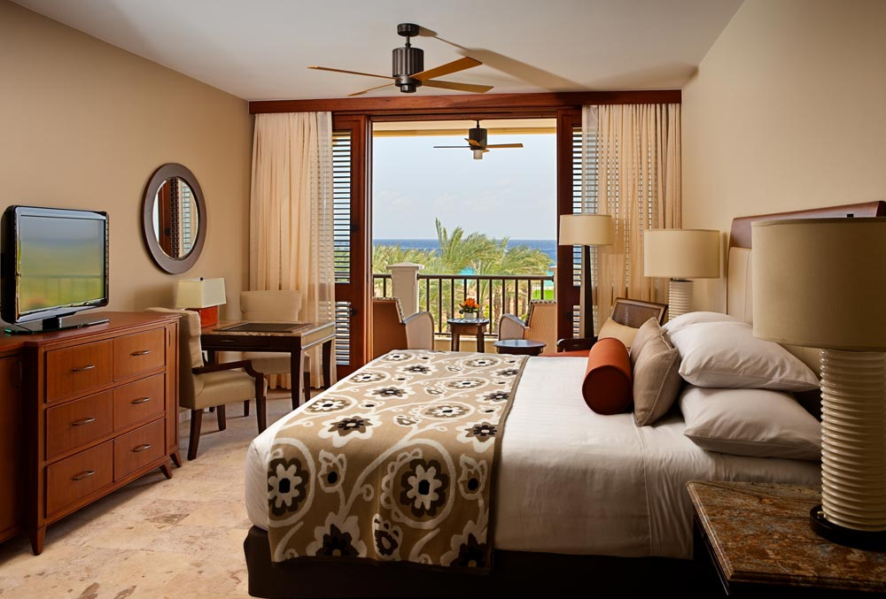 Partial Waterview King Guest Room at Santa Barbara Beach Golf Resort