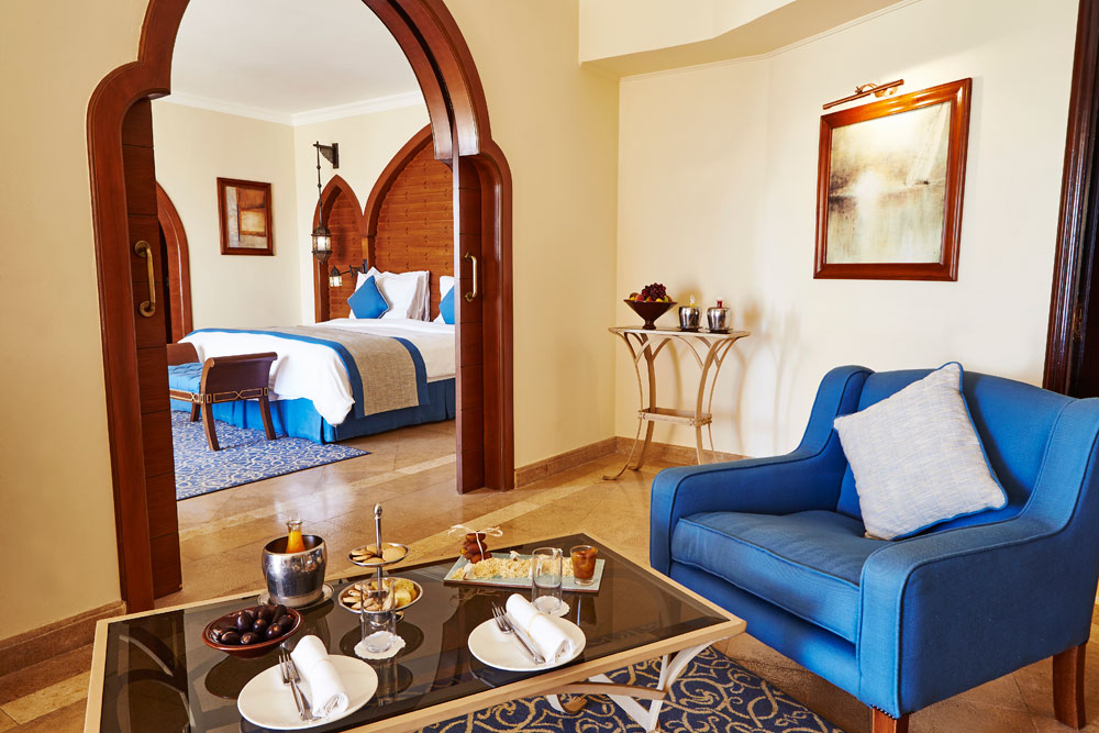 Deluxe Suite at Kempinski Hotel Soma Bay, Hurghada, Red Sea, Egypt