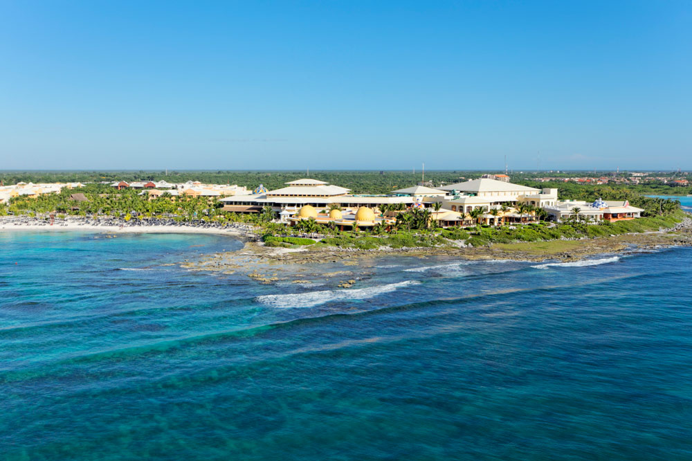 View of Barcelo Maya Palace Deluxe