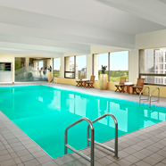 Indoor Pool at Westin CalgaryCanada