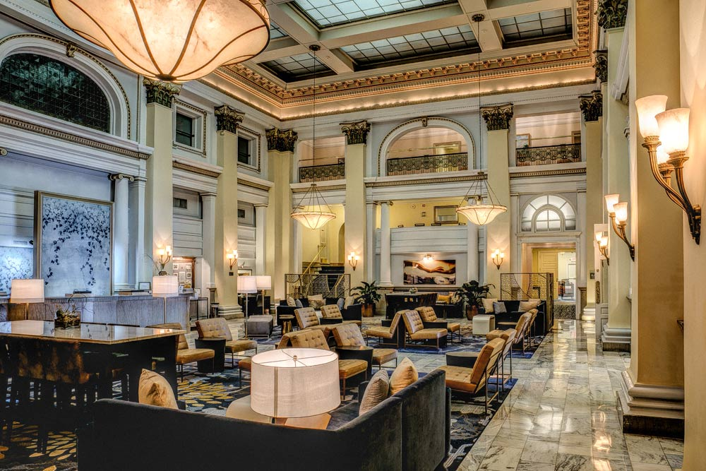 Lobby of The Westin ColumbusOH