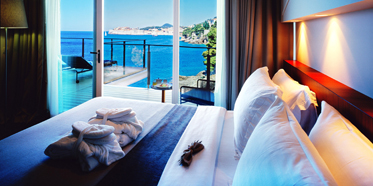Suite Guestroom with View at Villa Dubrovnik, Croatia