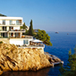 Villa Dubrovnik overlooks the 
