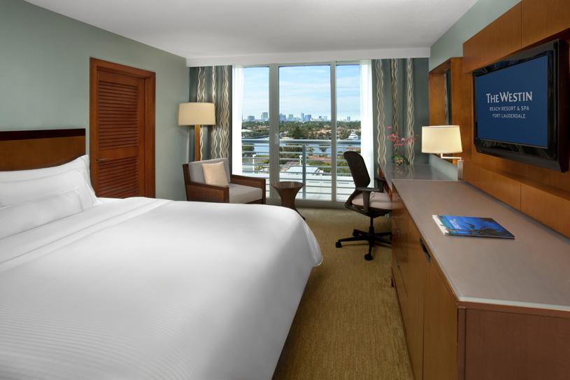 The Westin Beach Resort & Spa Fort Lauderdale Intercoastal City View Room