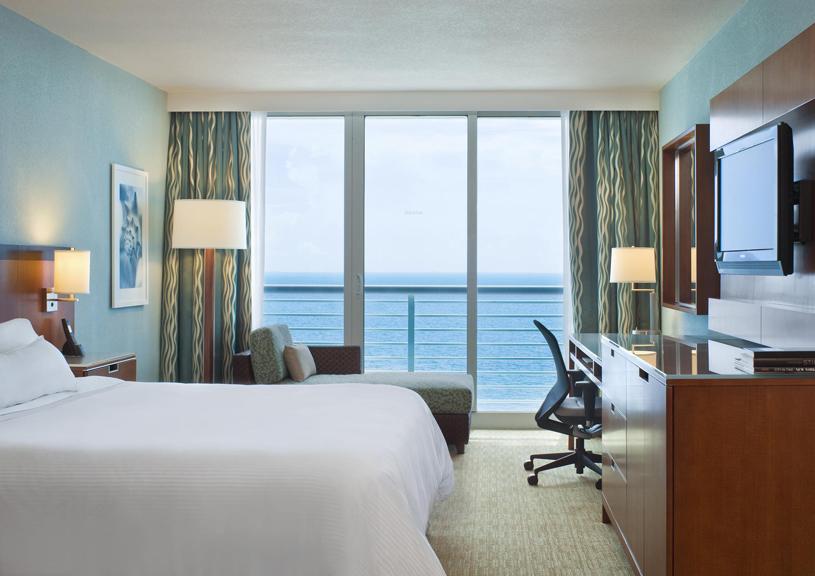 The Westin Beach Resort & Spa Fort Lauderdale King Room