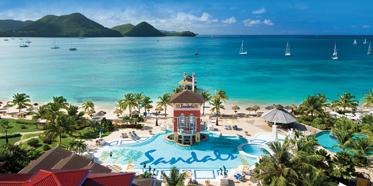 Sandals Grande St. Lucian, Gros Islet, Saint Lucia