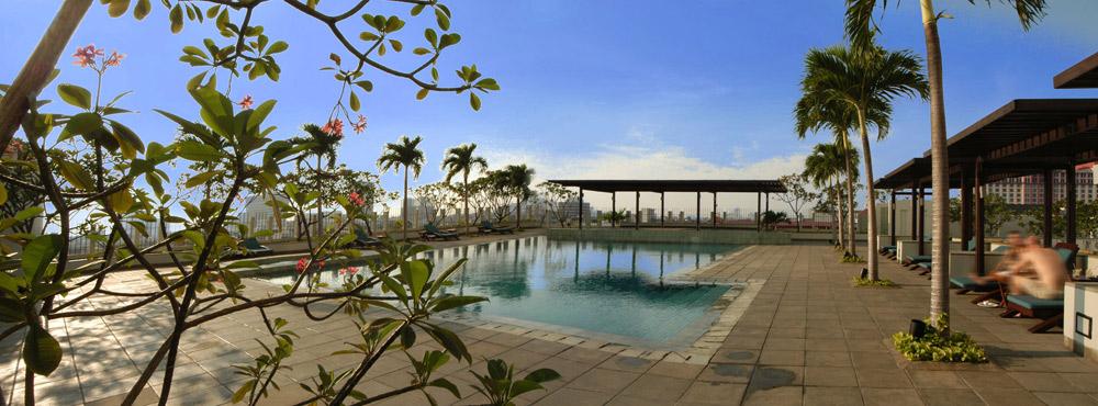 Outdoor Pool at Alila Jakarta HotelIndonesia