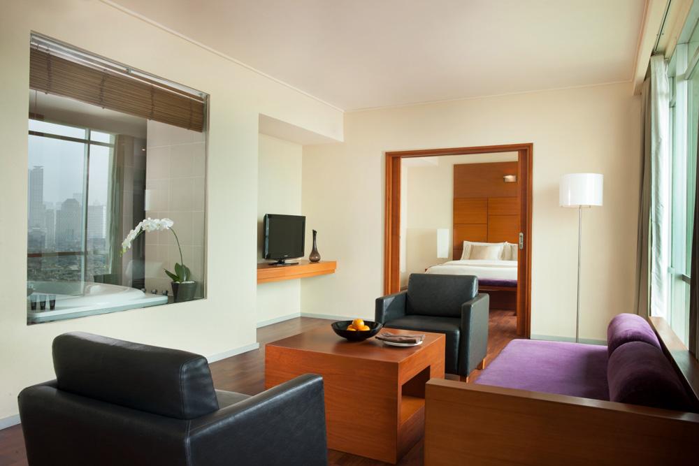 Suite Living Room at Alila Jakarta HotelIndonesia