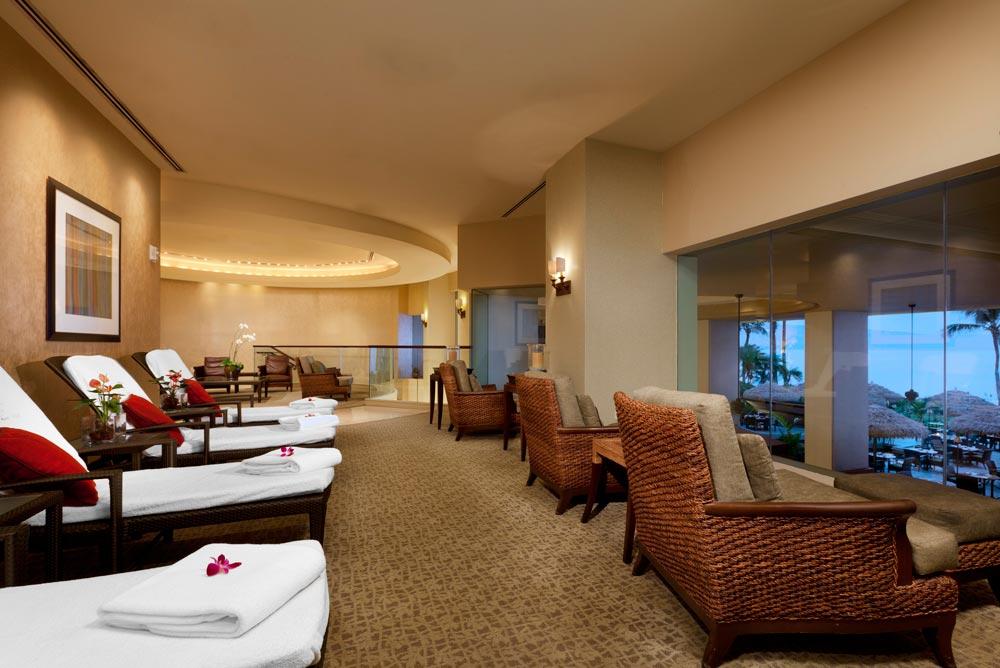 Spa Lounge at Westin Maui