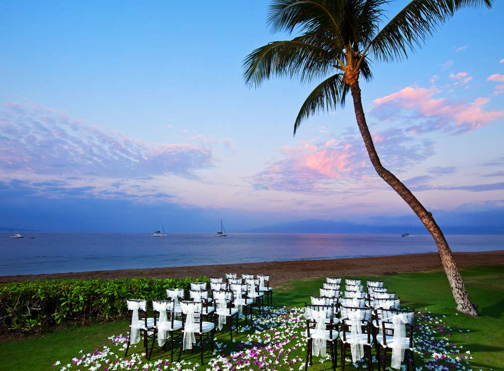 Ocean Front Ceremony at Westin Maui