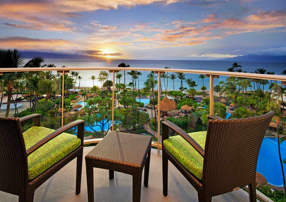 Ocean Tower Suite Terrace at Westin Maui