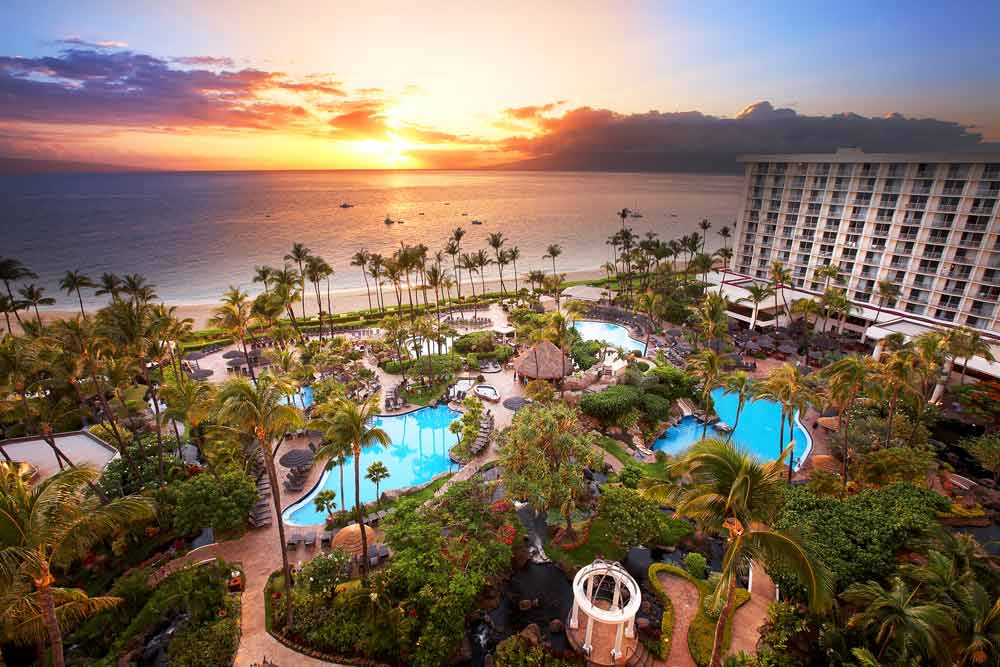 Overview of Westin Maui Resort