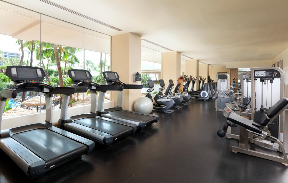 Fitness Center at Westin Maui Resort