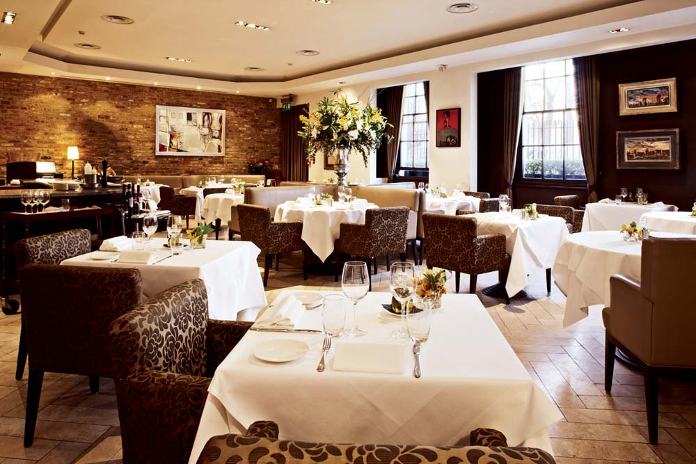 Avista Restaurant at The Millennium Mayfair Hotel