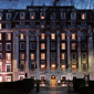 Exterior at night of The Millennium Mayfair Hotel