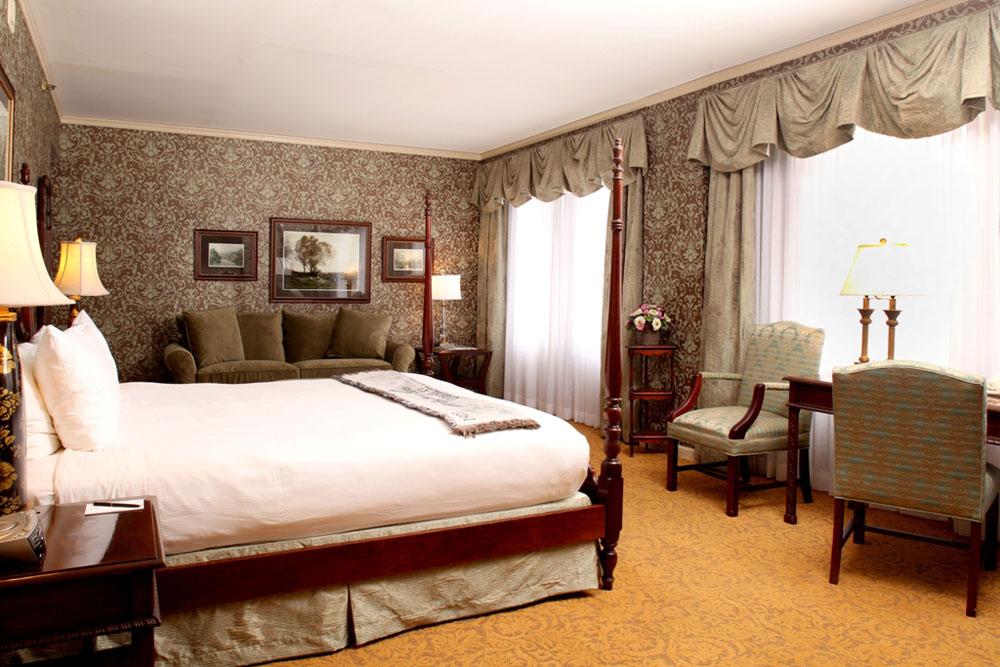 Guestroom at The Brown Hotel LouisvilleKY