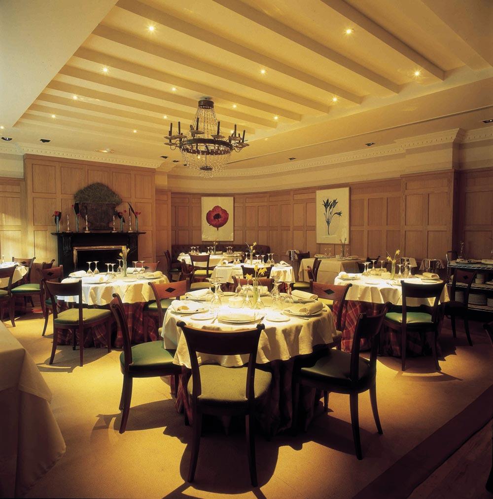 Dining at Adler Hotel MadridSpain