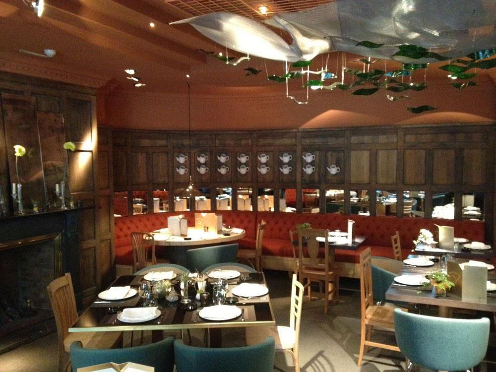 Dining Room at Adler Hotel MadridSpain
