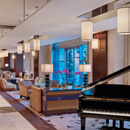 Lobby and Lounge at Westin Memphis Beale StreetMemphisTN