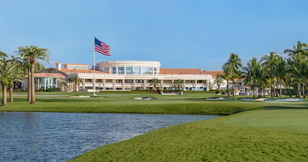 Exterior of Trump International Doral, Miami, FL