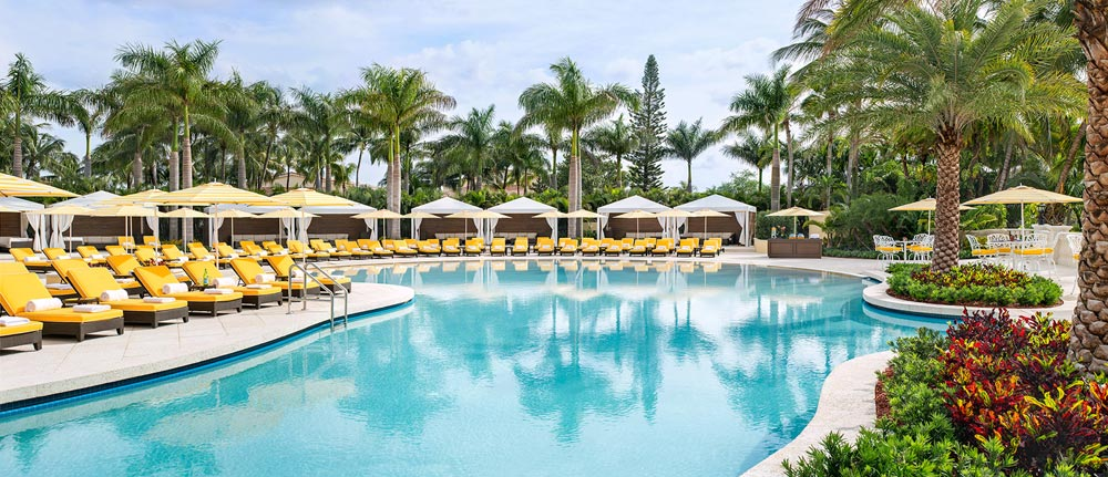 Main Pool at Trump International Doral, Miami, FL