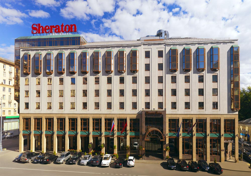 Sheraton Palace Hotel, Moscow, Russia
