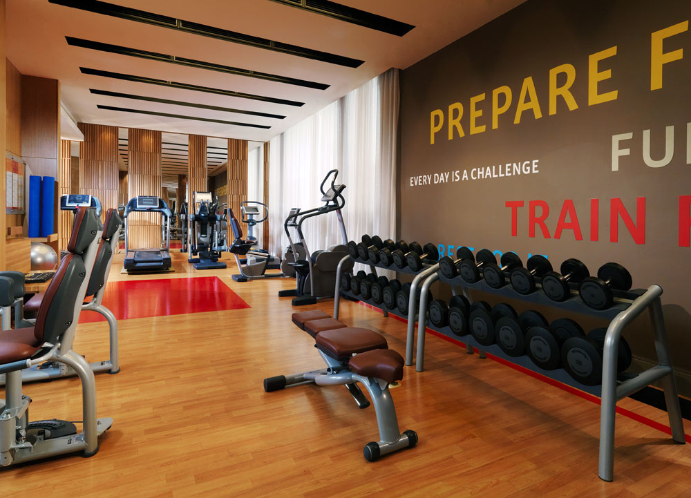 Fitness Center at Sheraton Palace HotelMoscowRussia