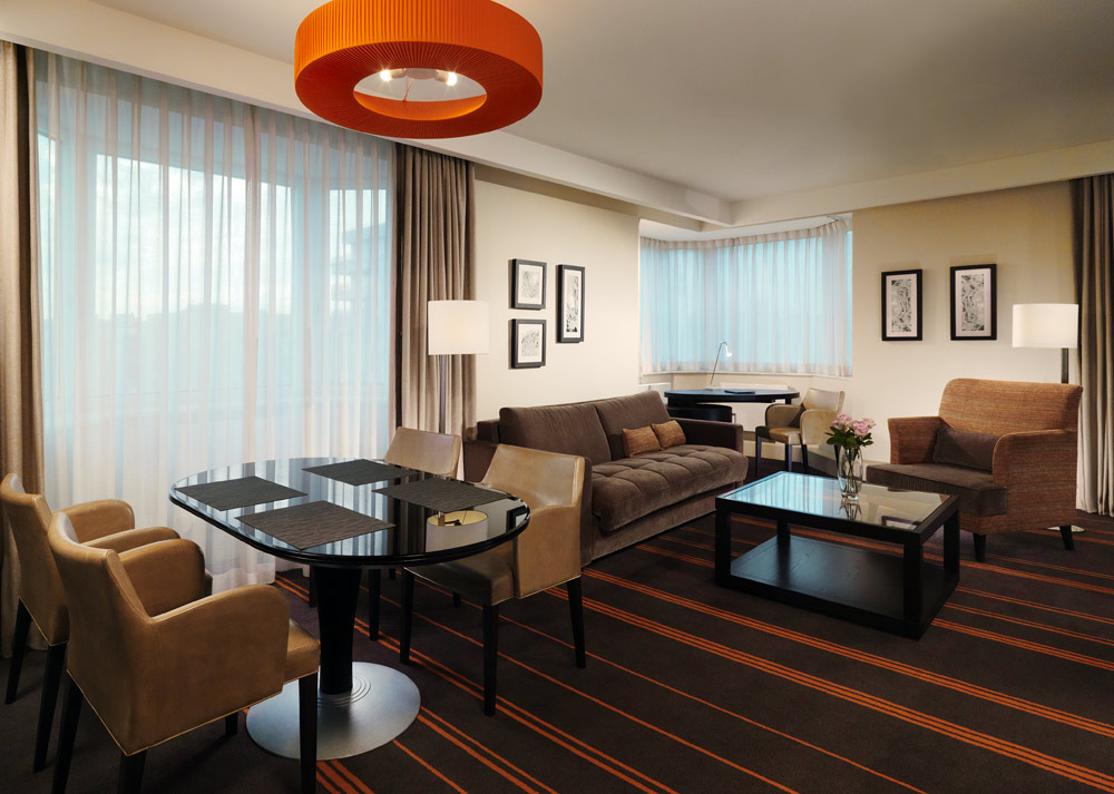 Suite Living at Sheraton Palace HotelMoscowRussia