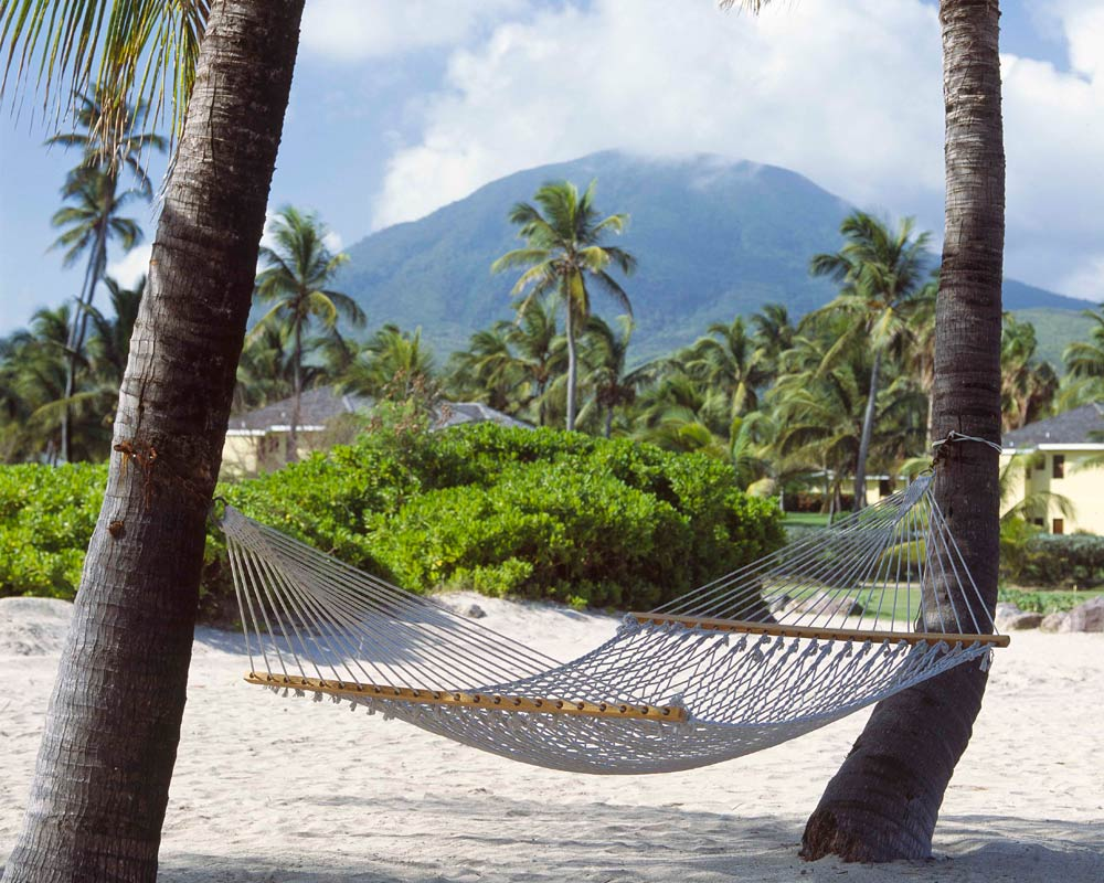 Hammock by the Sea at Nisbet Plantation Beach Club NevisSaint Kitts and Nevis