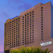 Exterior of The Westin New Orleans Canal Place