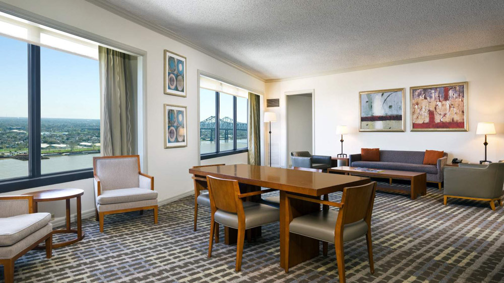 River Suite at The Westin New Orleans Canal Place