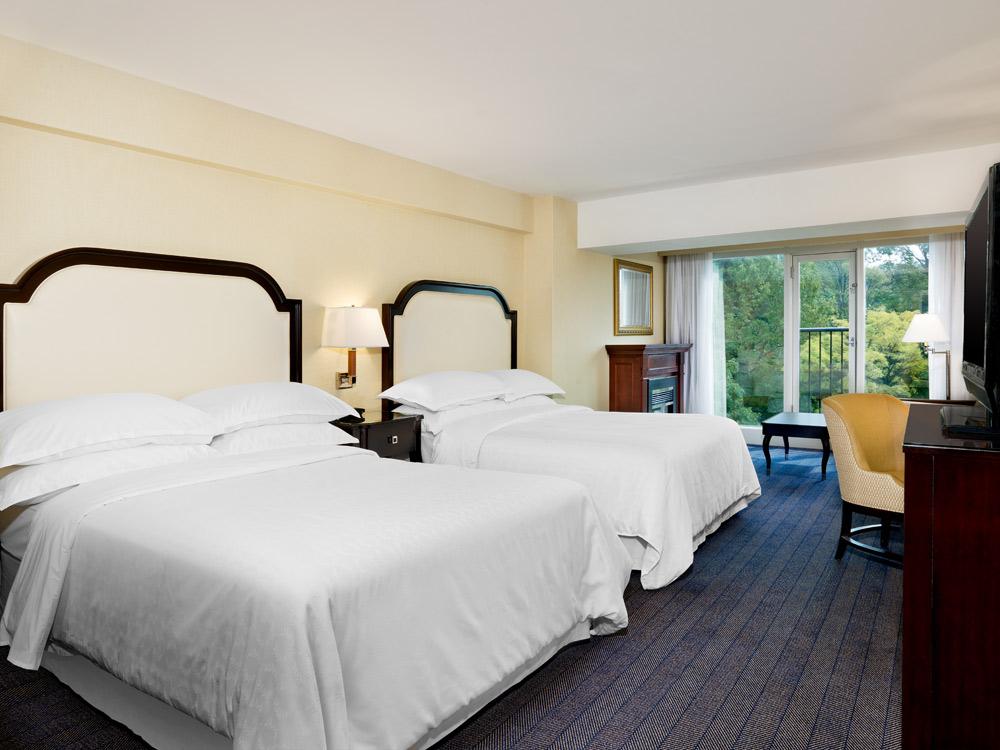 Double Guestroom at Sheraton On the Falls HotelNiagara FallsONCanada