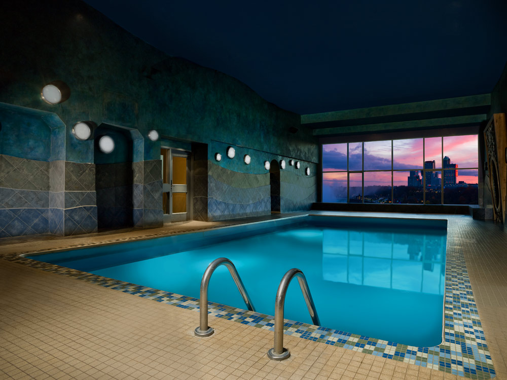 Indoor Pool at Sheraton On the Falls HotelNiagara FallsONCanada