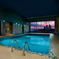 Indoor Pool at Sheraton On the Falls Hotel, Niagara Falls, ON, Canada