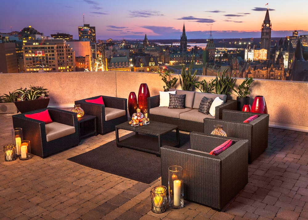 Rooftop Lounge at The Westin OttawaONCanada