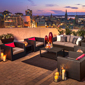 Rooftop Lounge at The Westin Ottawa, ON, Canada