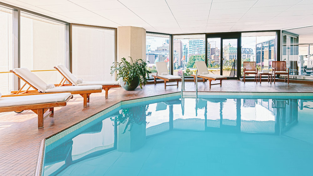 Indoor Pool at The Westin OttawaONCanada