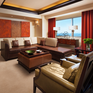 Suite Living Room at Sheraton Grand PhoenixAZ