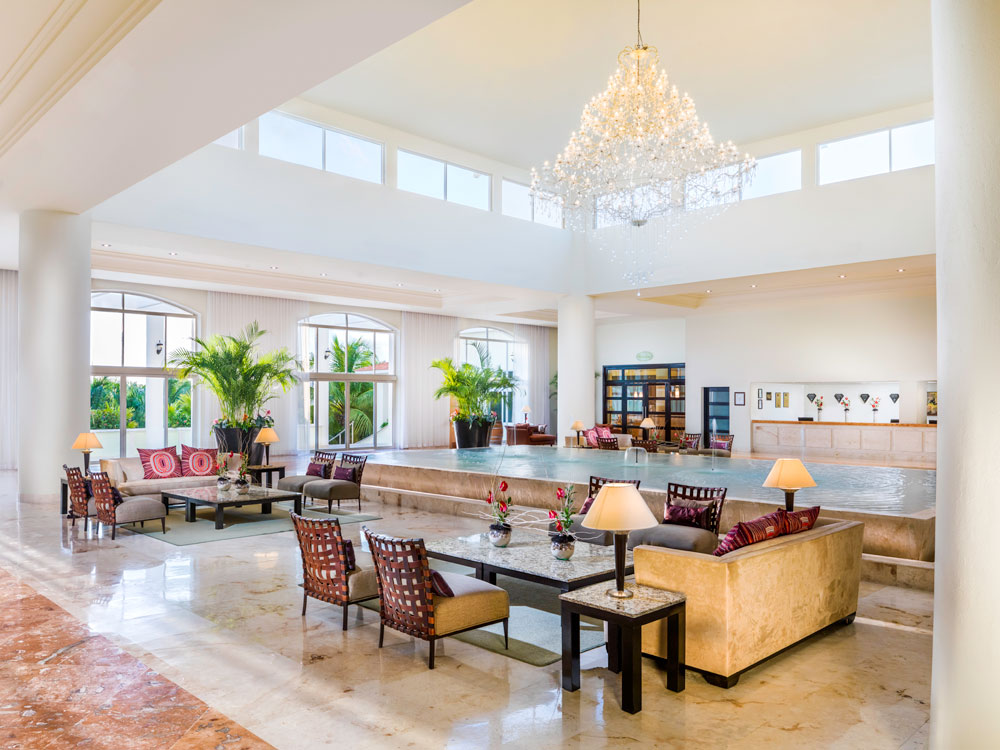 Lobby at El Dorado Royale Spa Resort