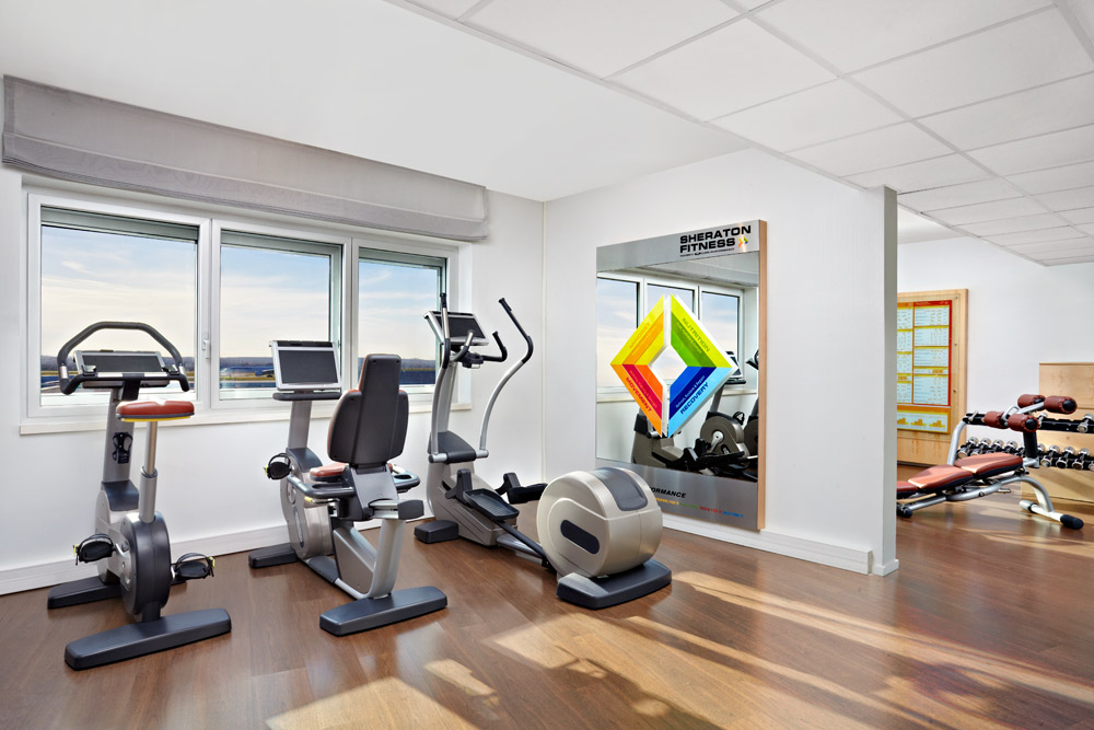 Fitness Center at Sheraton Hotel Charles De Gaulle Airport RoissyFrance
